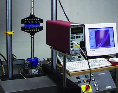 planar tension or pure shear speciemn in a tensile test machine